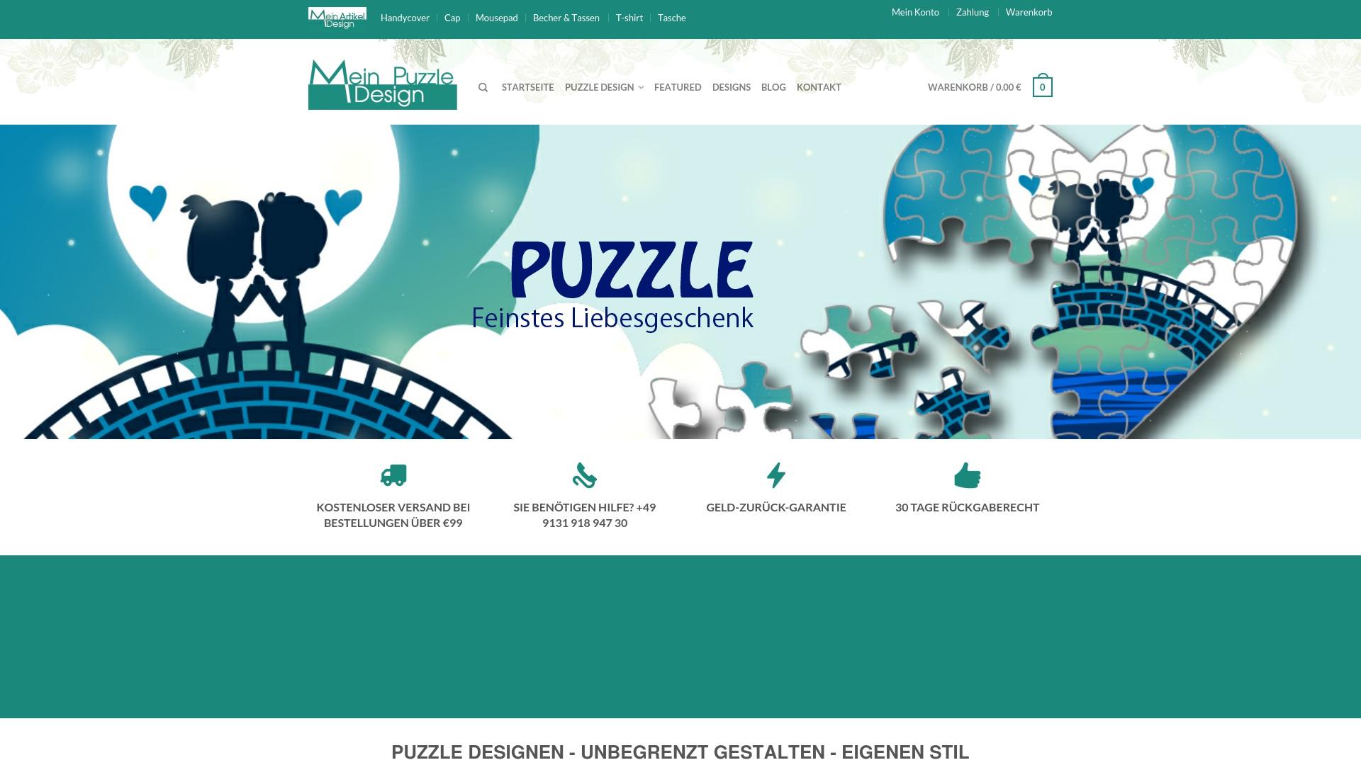 Gutschein für Mein-puzzle-design: Rabatte für  Mein-puzzle-design sichern