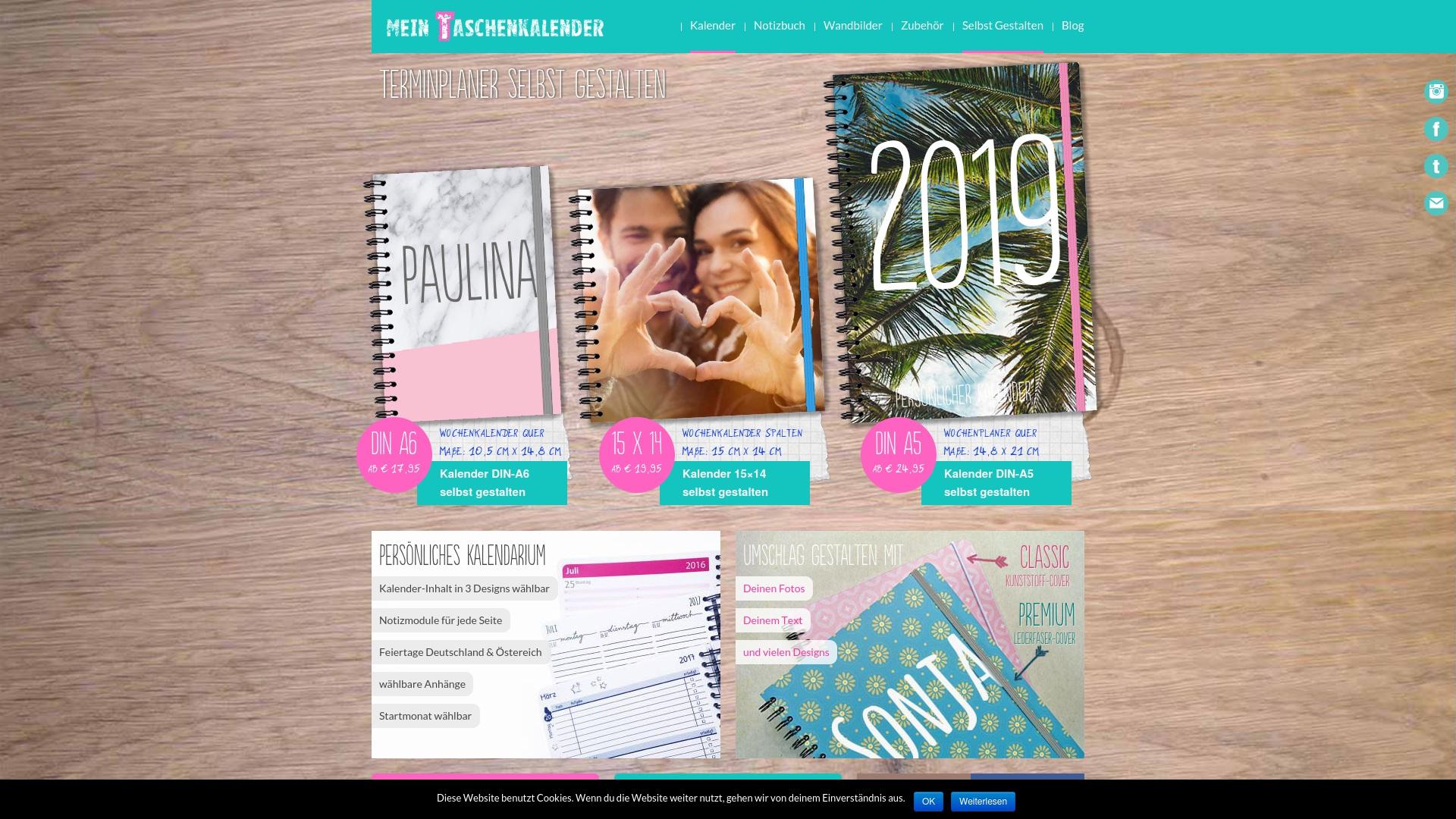 Gutschein für Mein-taschenkalender: Rabatte für  Mein-taschenkalender sichern