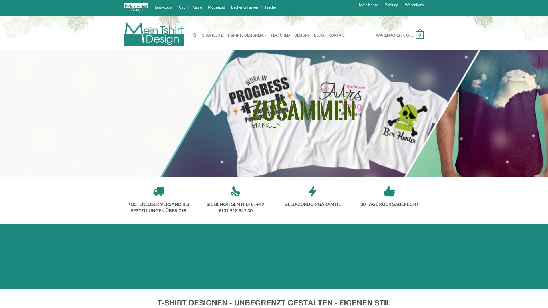 Gutschein für Mein-tshirt-design: Rabatte für  Mein-tshirt-design sichern