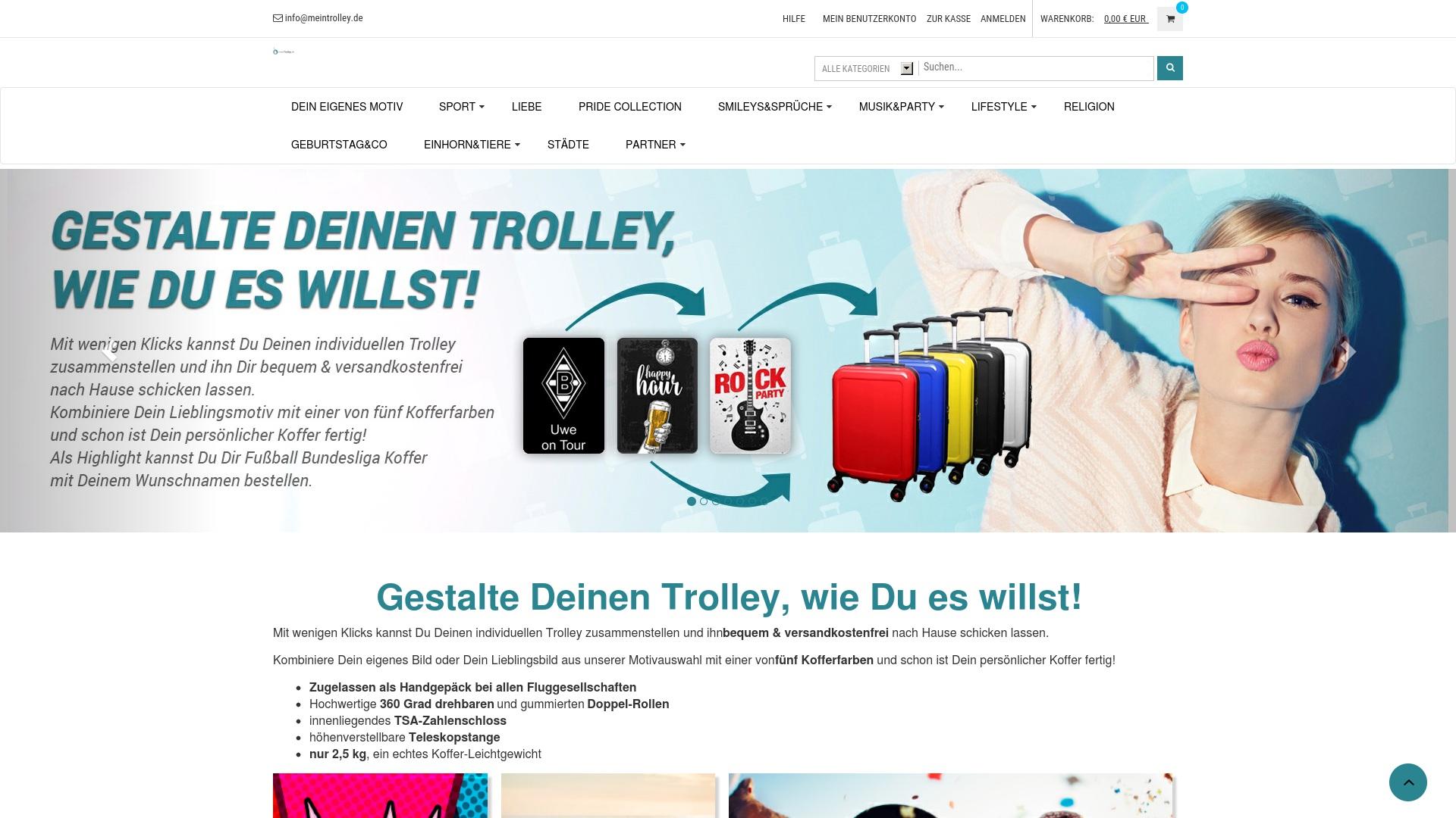 Gutschein für Meintrolley: Rabatte für  Meintrolley sichern