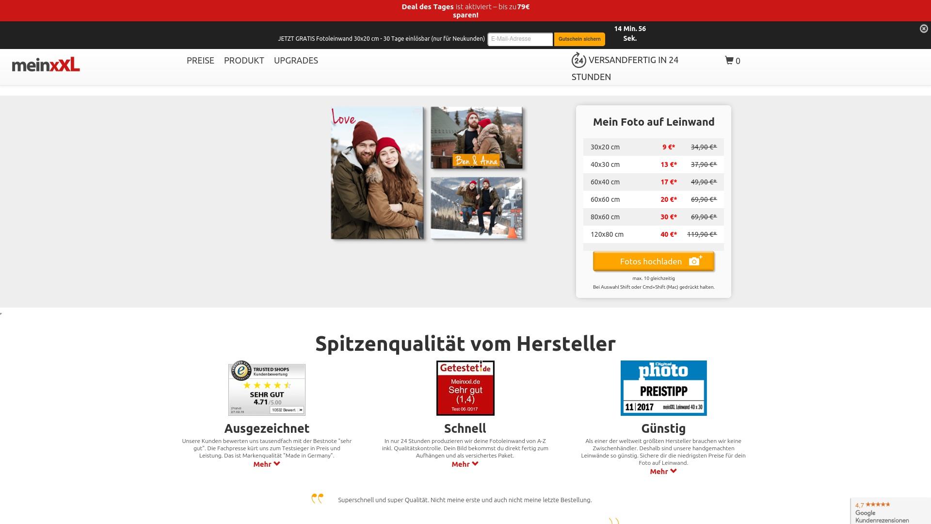 Gutschein für Meinxxl: Rabatte für  Meinxxl sichern