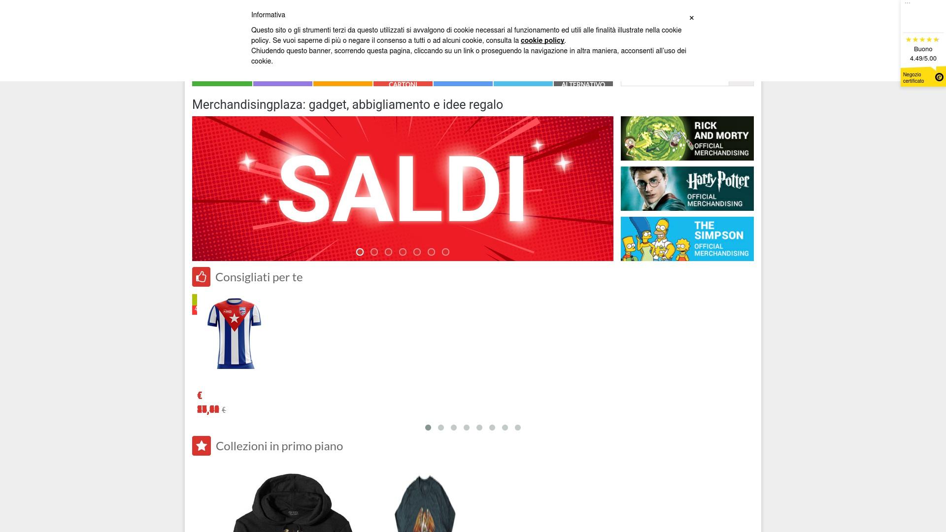 Gutschein für Merchandisingplaza: Rabatte für  Merchandisingplaza sichern