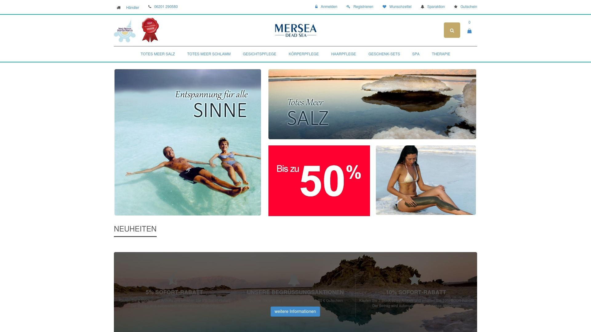 Gutschein für Mersea-kosmetik: Rabatte für  Mersea-kosmetik sichern