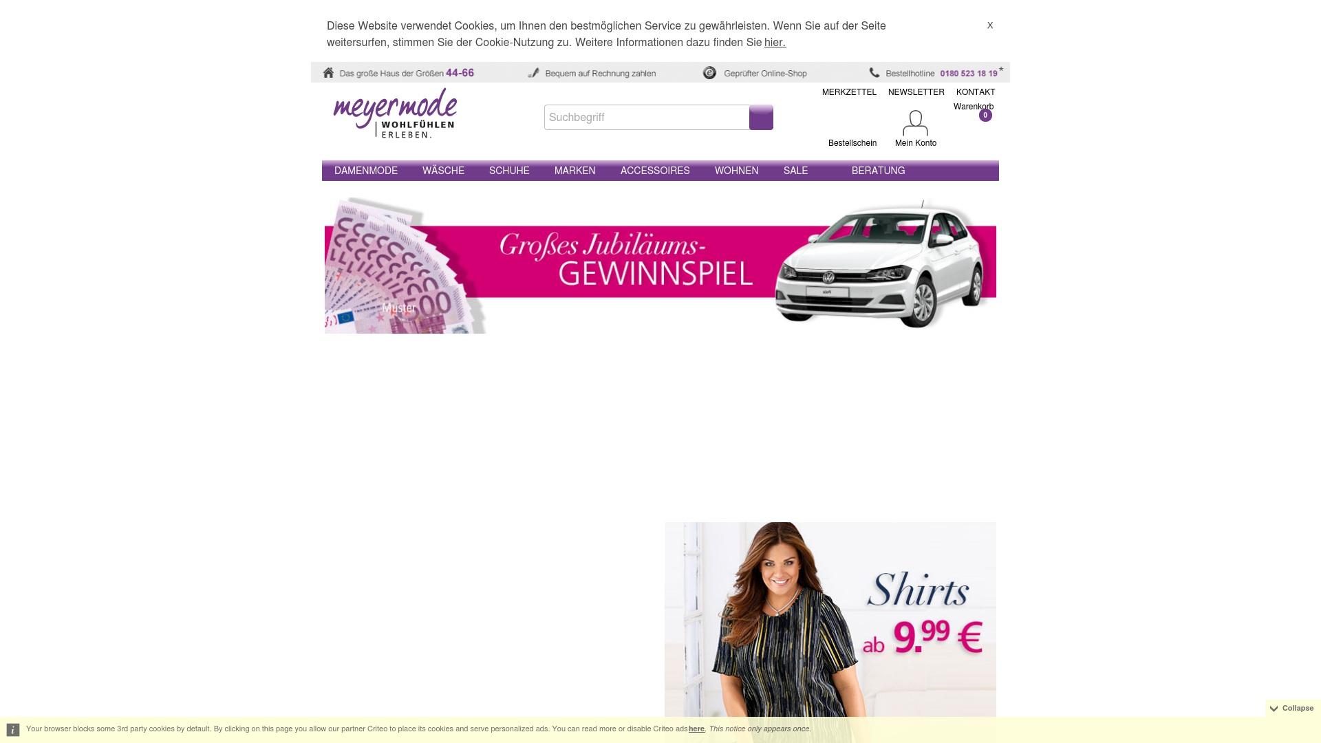 Gutschein für Meyer-mode: Rabatte für  Meyer-mode sichern