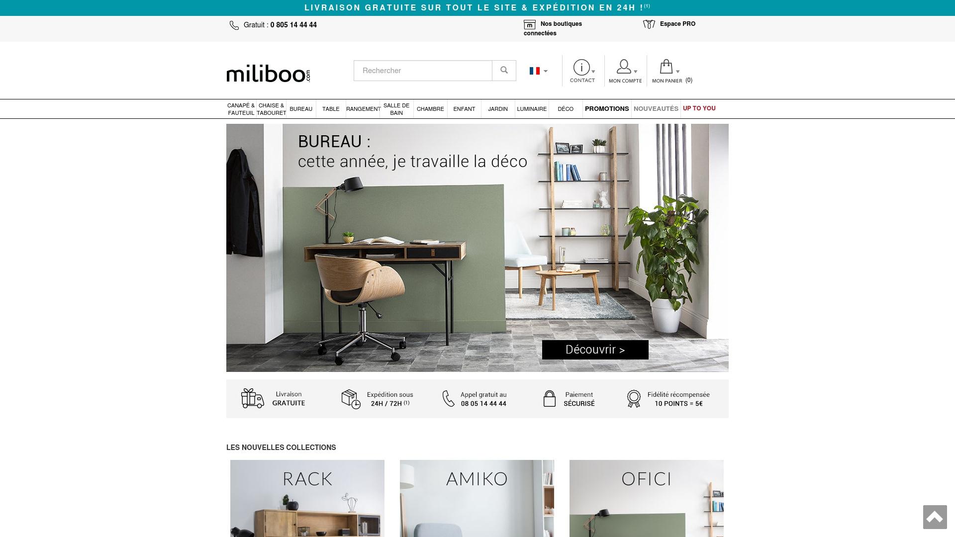 Gutschein für Miliboo: Rabatte für  Miliboo sichern