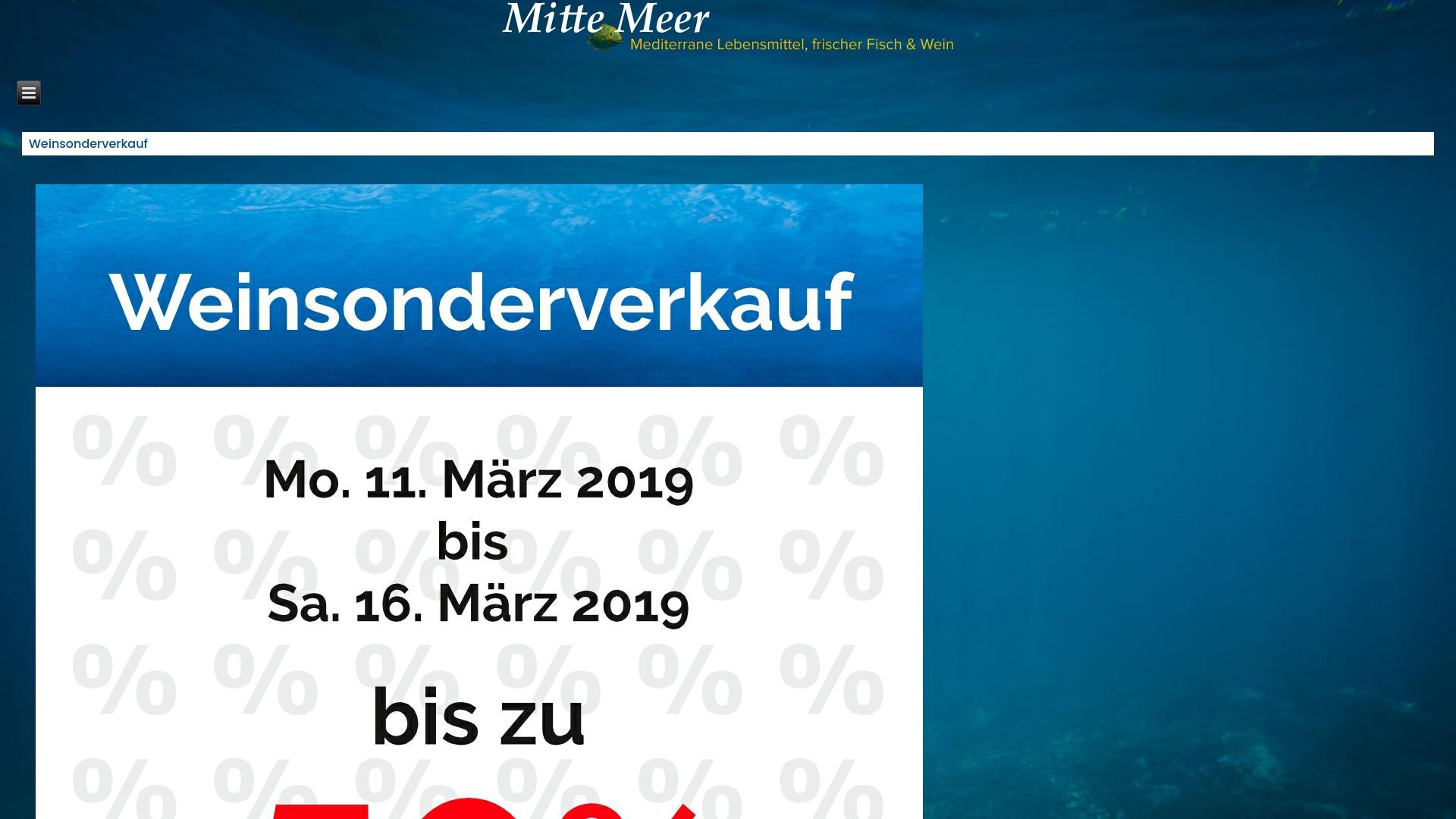Gutschein für Mitte-meer: Rabatte für  Mitte-meer sichern