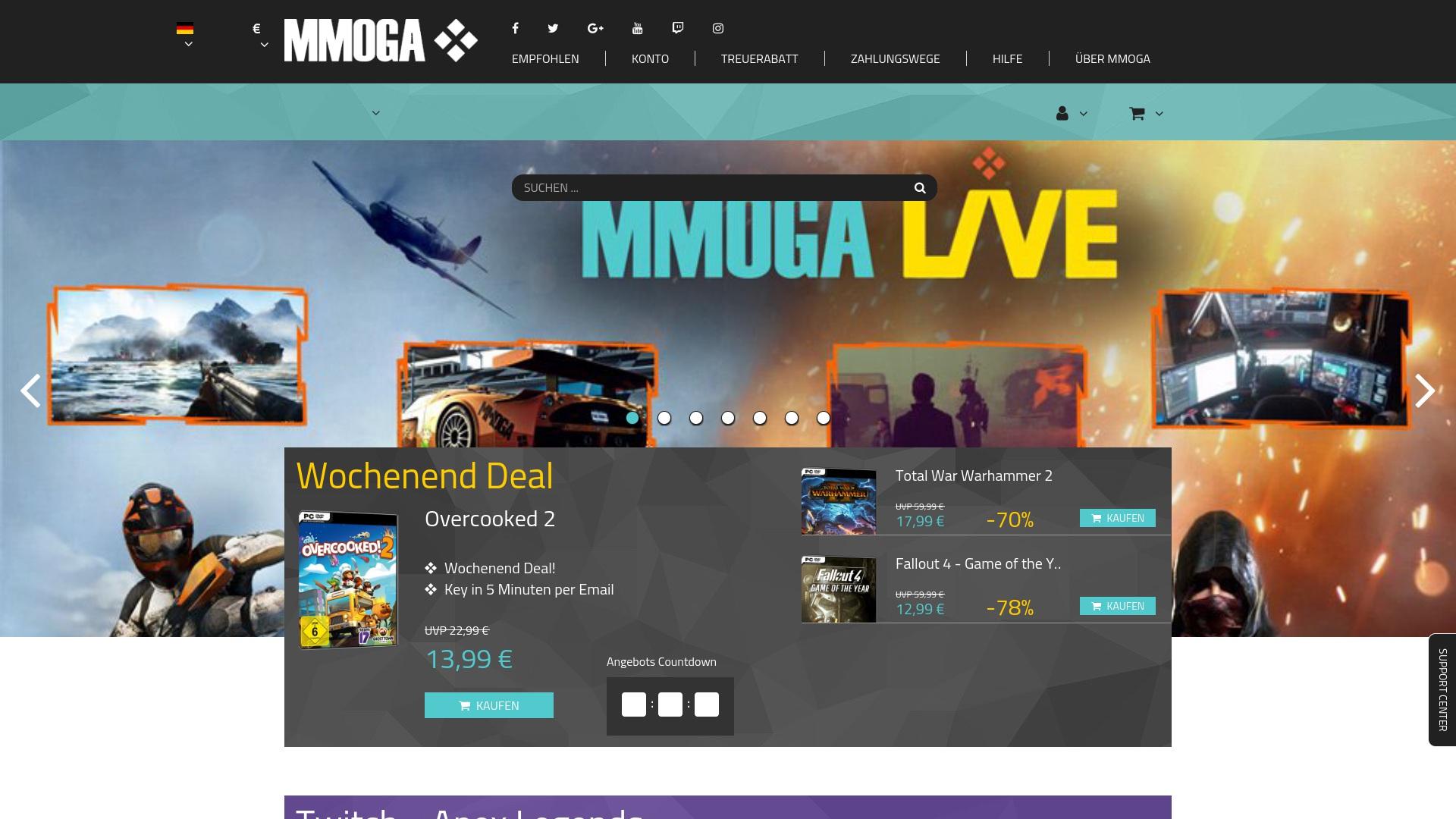 Gutschein für Mmoga: Rabatte für  Mmoga sichern