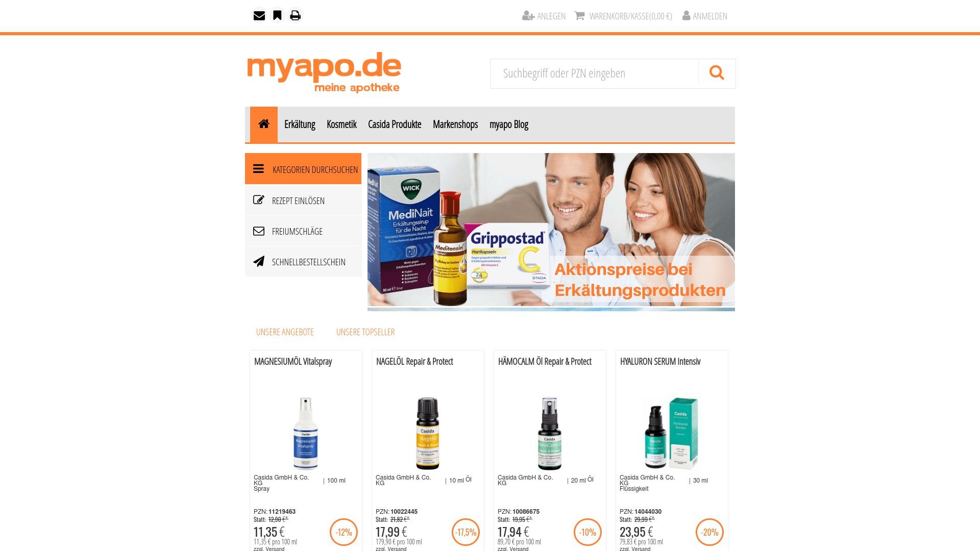 Gutschein für Myapo: Rabatte für  Myapo sichern
