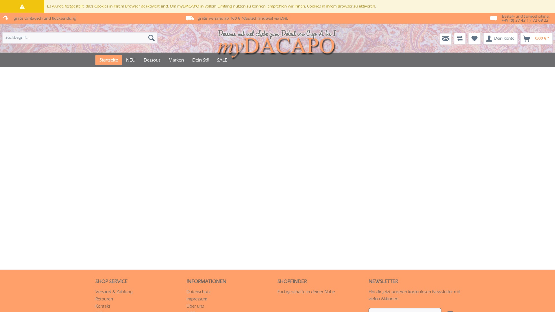 Gutschein für Mydacapo: Rabatte für  Mydacapo sichern