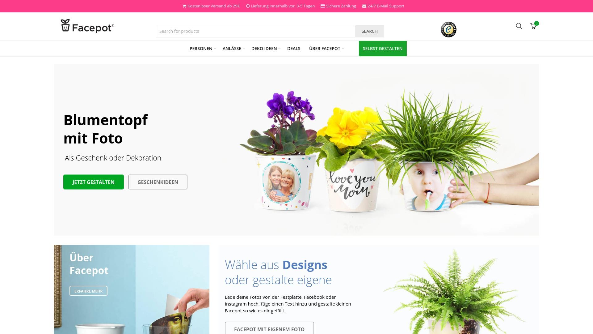 Gutschein für Myfacepot: Rabatte für  Myfacepot sichern