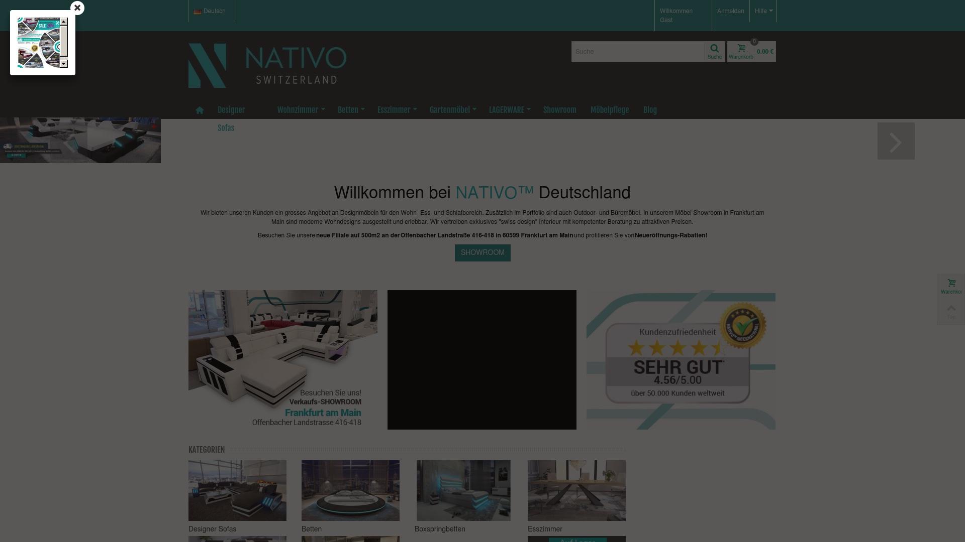 Gutschein für Nativo-moebel: Rabatte für  Nativo-moebel sichern