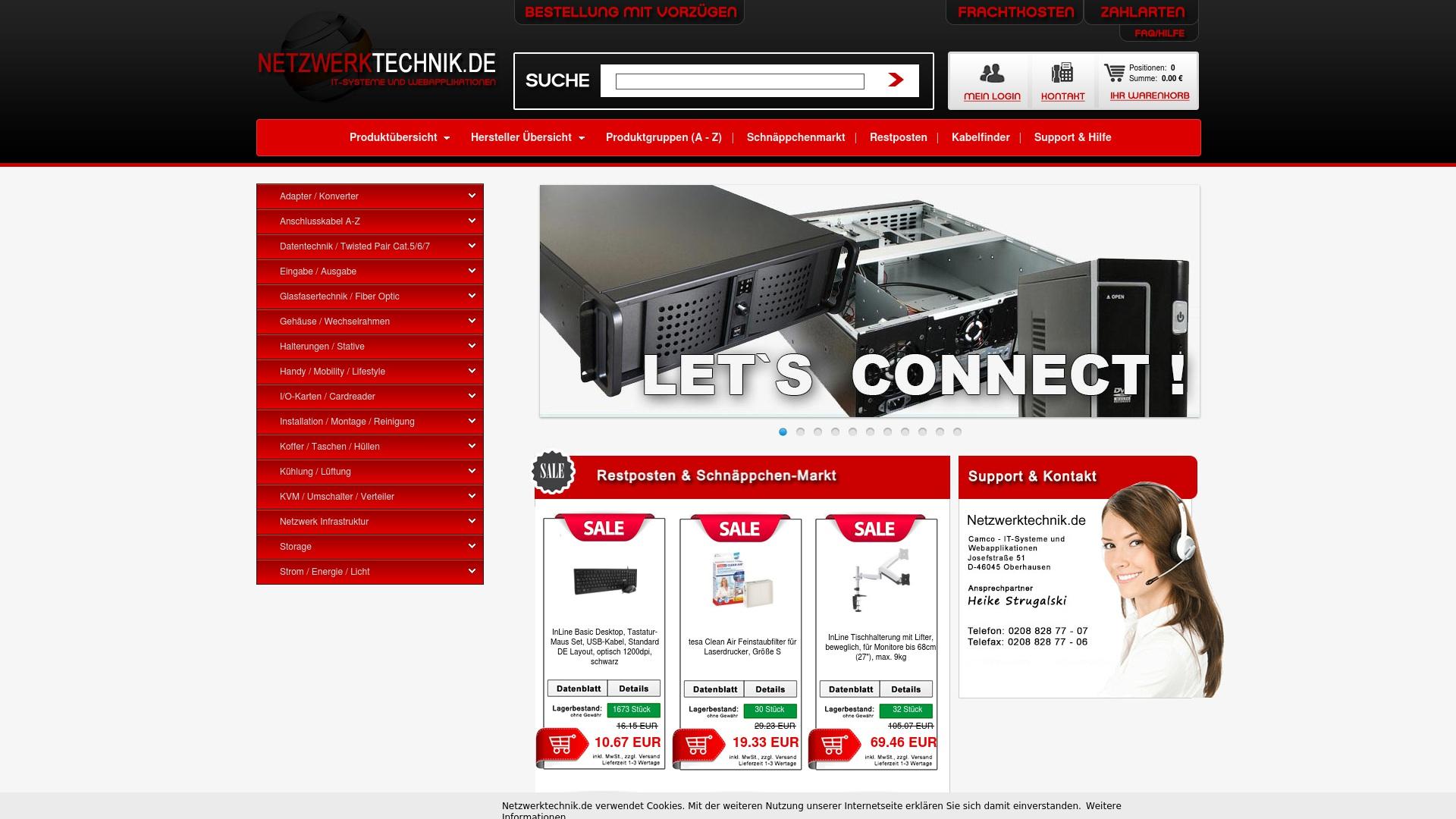 Gutschein für Netzwerktechnik: Rabatte für  Netzwerktechnik sichern