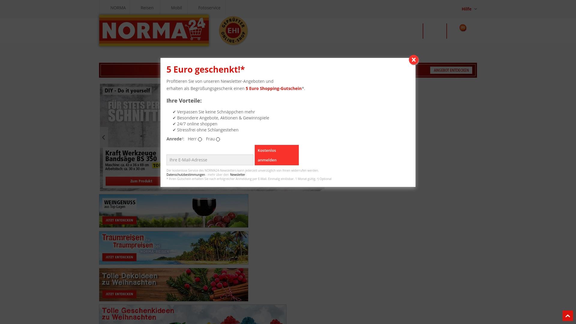 Gutschein für Norma24: Rabatte für  Norma24 sichern