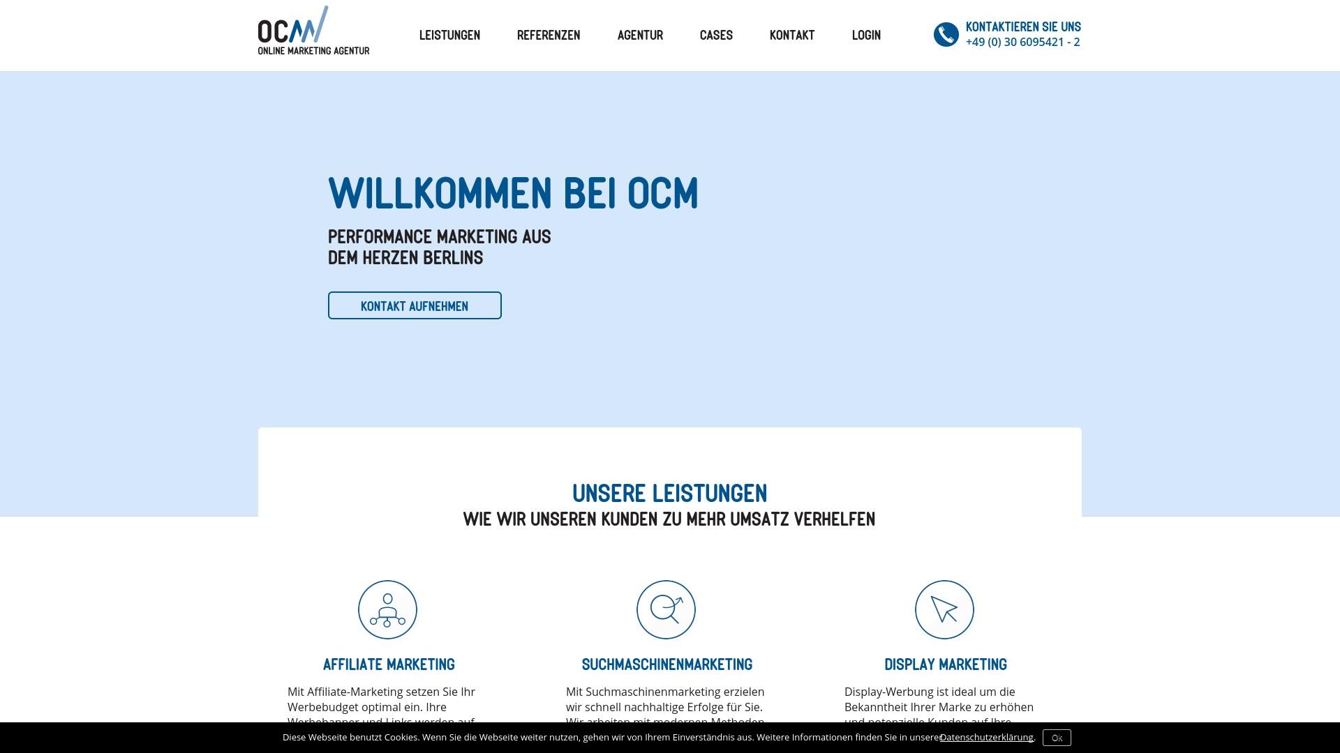 Gutschein für Ocm: Rabatte für  Ocm sichern