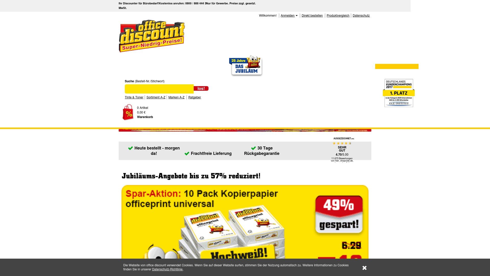 Gutscheincode Office Discount