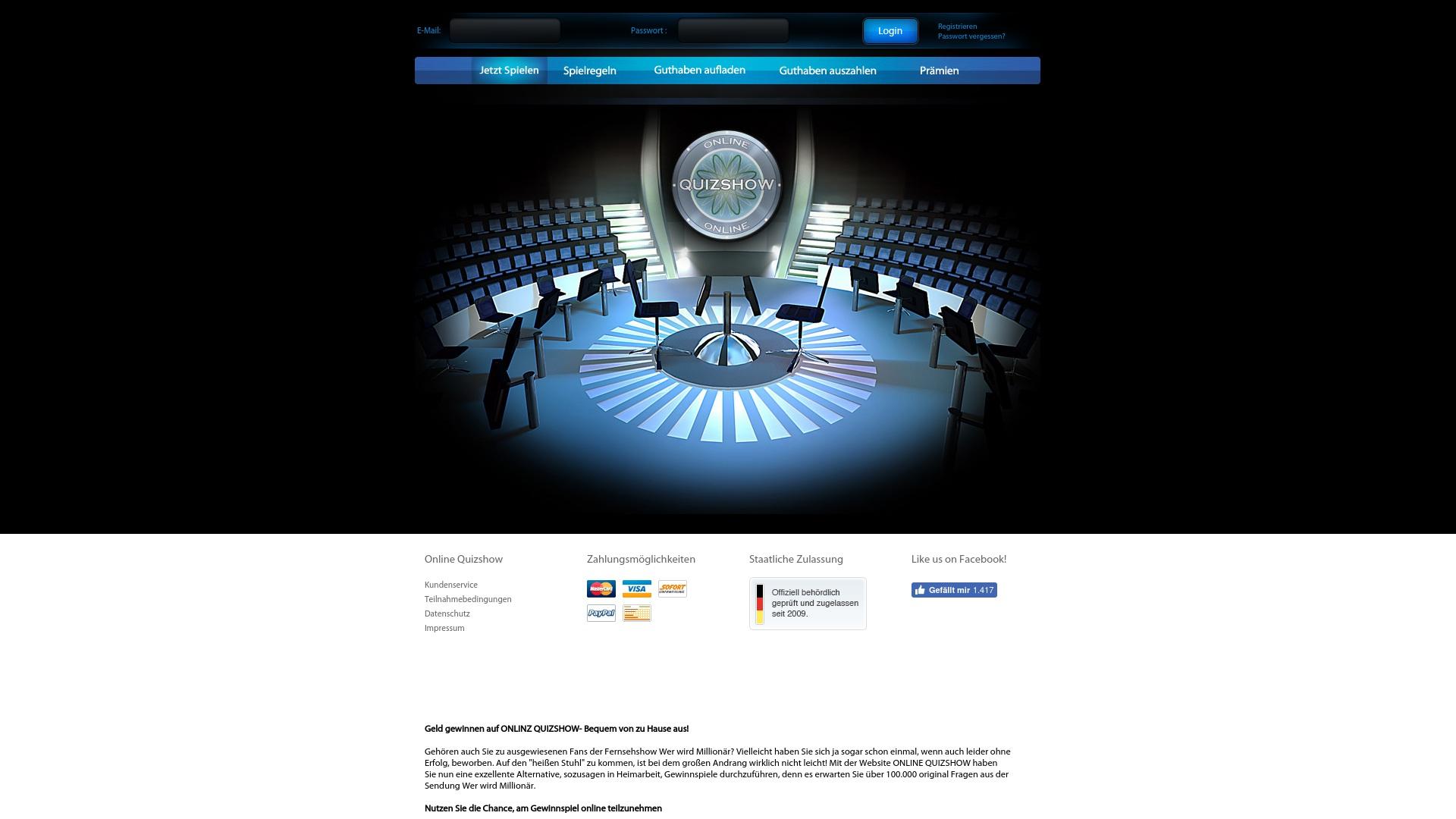 Gutschein für Online-quizshow: Rabatte für  Online-quizshow sichern