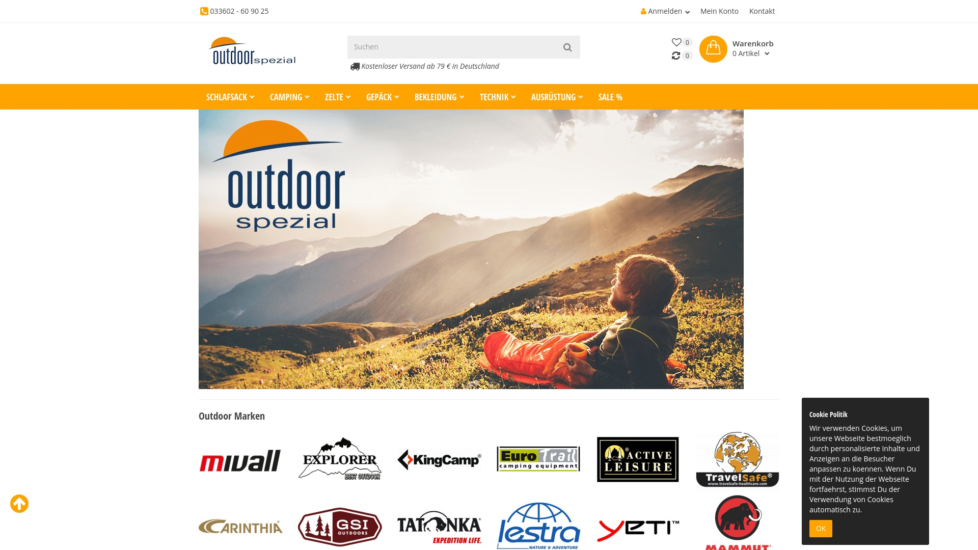 Gutschein für Outdoorspezial: Rabatte für Outdoorspezial sichern