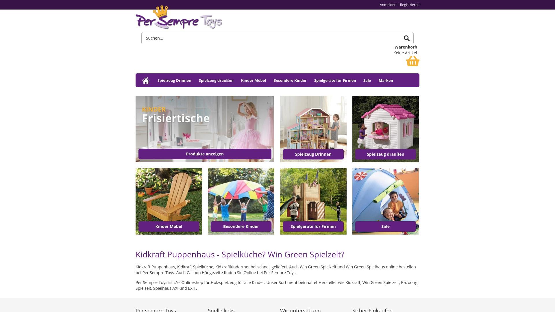 Gutschein für Persempretoys: Rabatte für  Persempretoys sichern