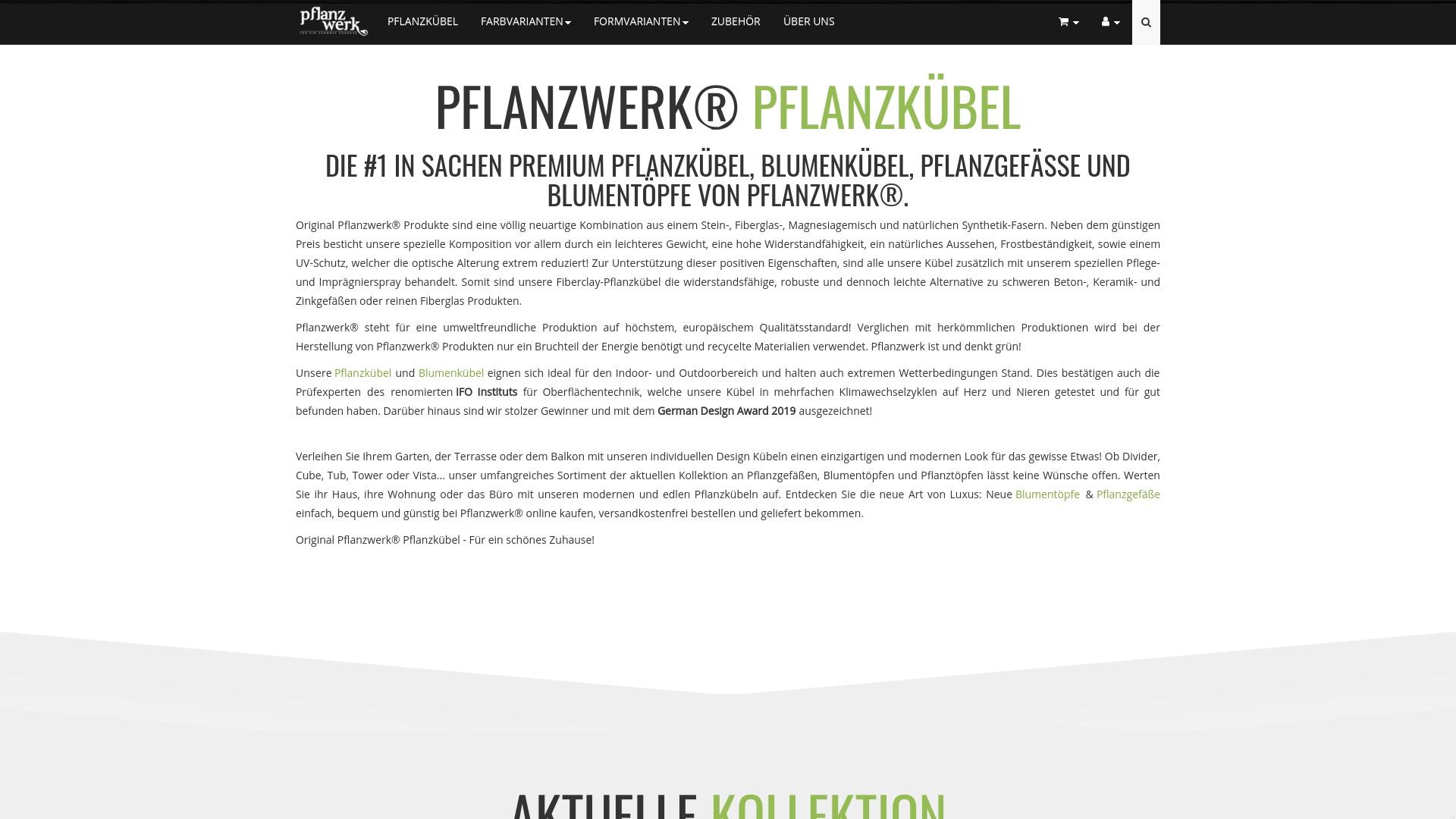 Gutschein für Pflanzwerk-shop: Rabatte für  Pflanzwerk-shop sichern