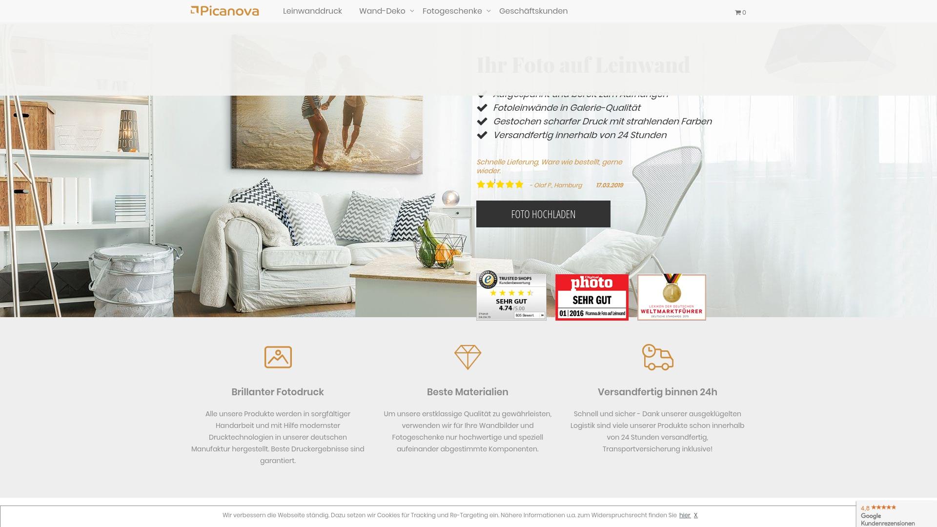 Gutschein für Picanova: Rabatte für  Picanova sichern