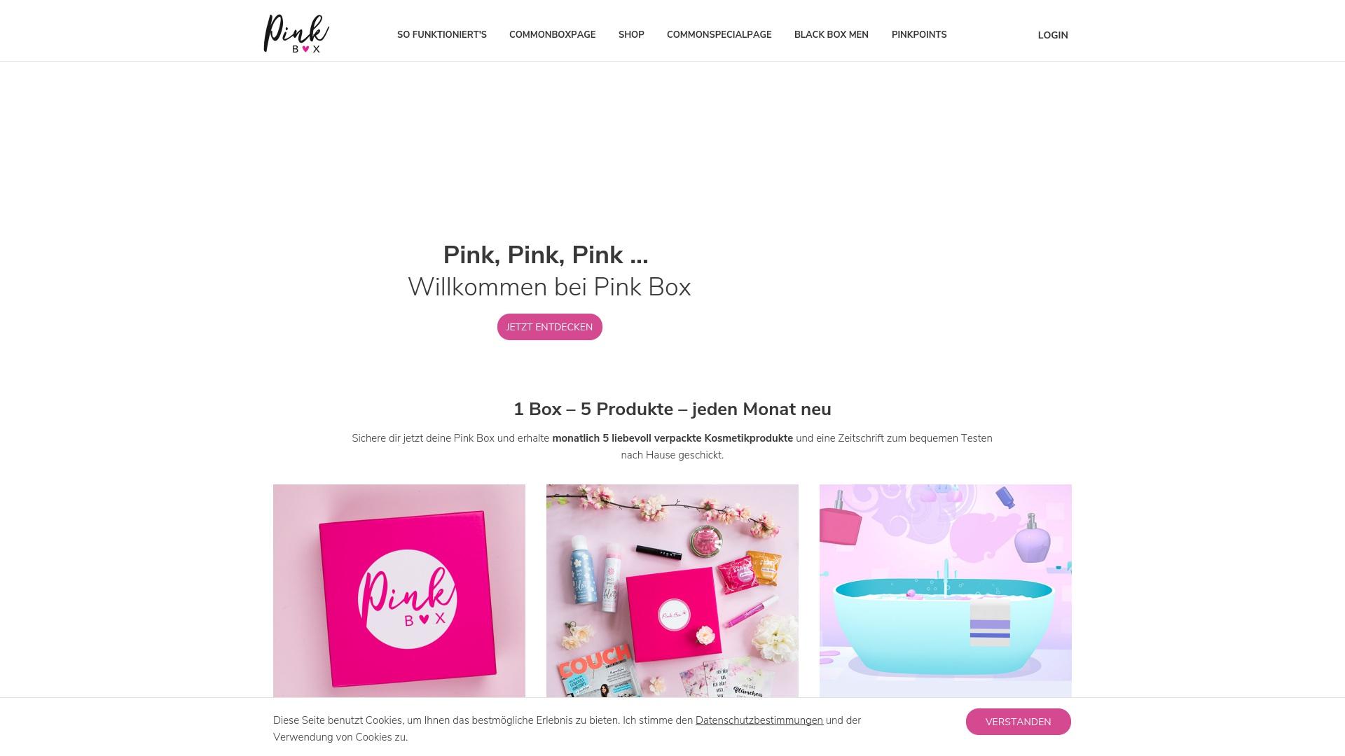 Gutschein für Pinkbox: Rabatte für  Pinkbox sichern
