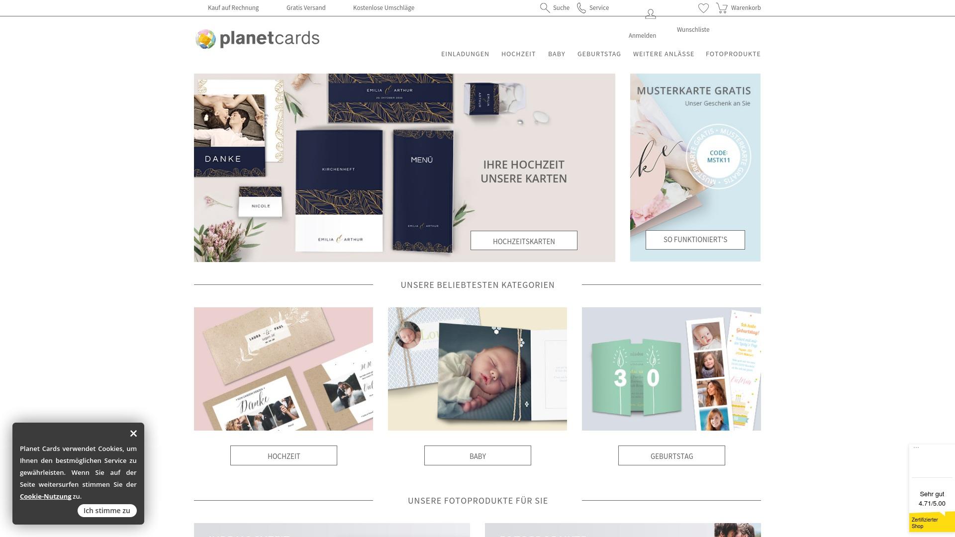 Gutschein für Planet-cards: Rabatte für  Planet-cards sichern