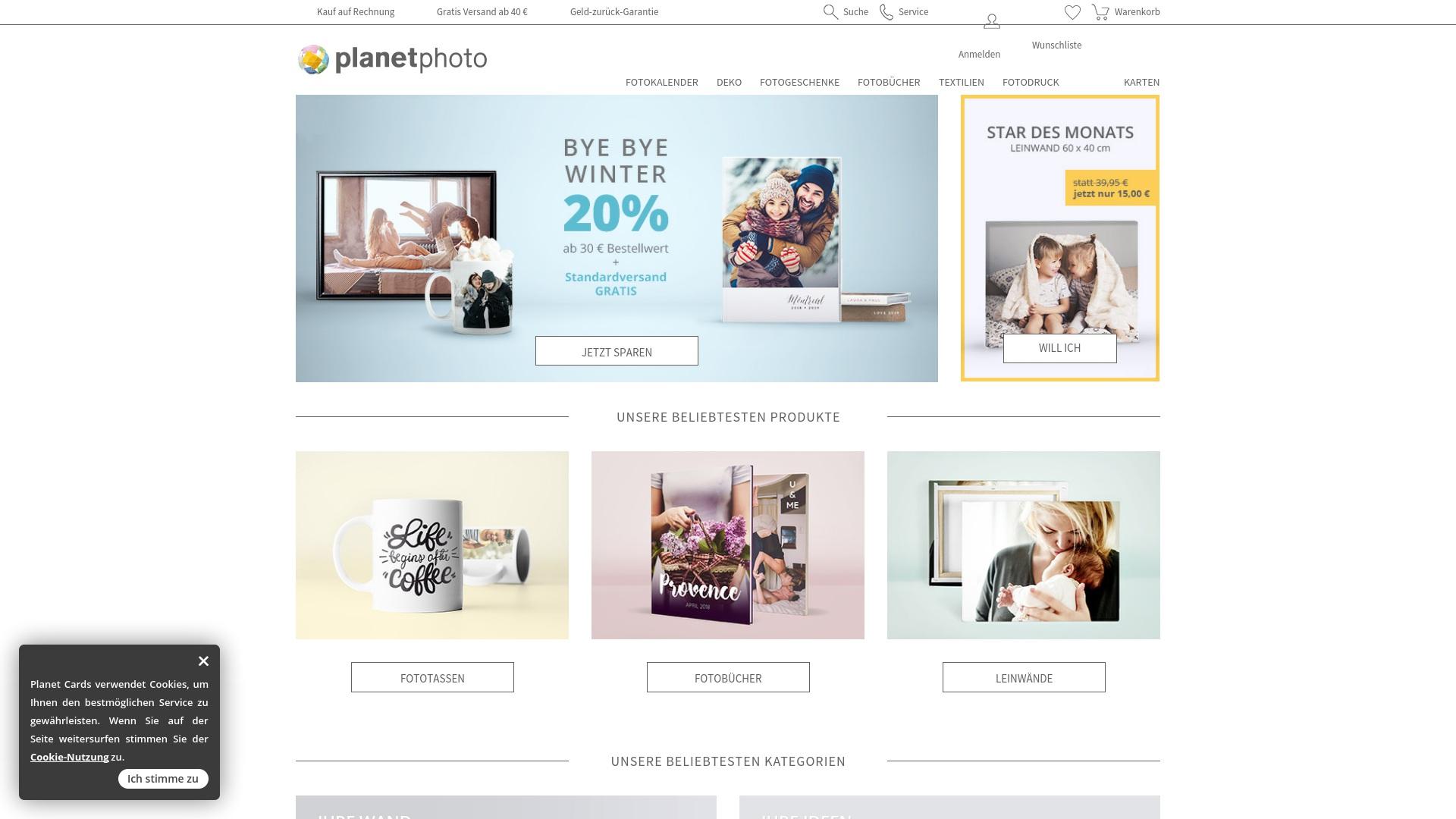 Gutschein für Planet-photo: Rabatte für Planet-photo sichern