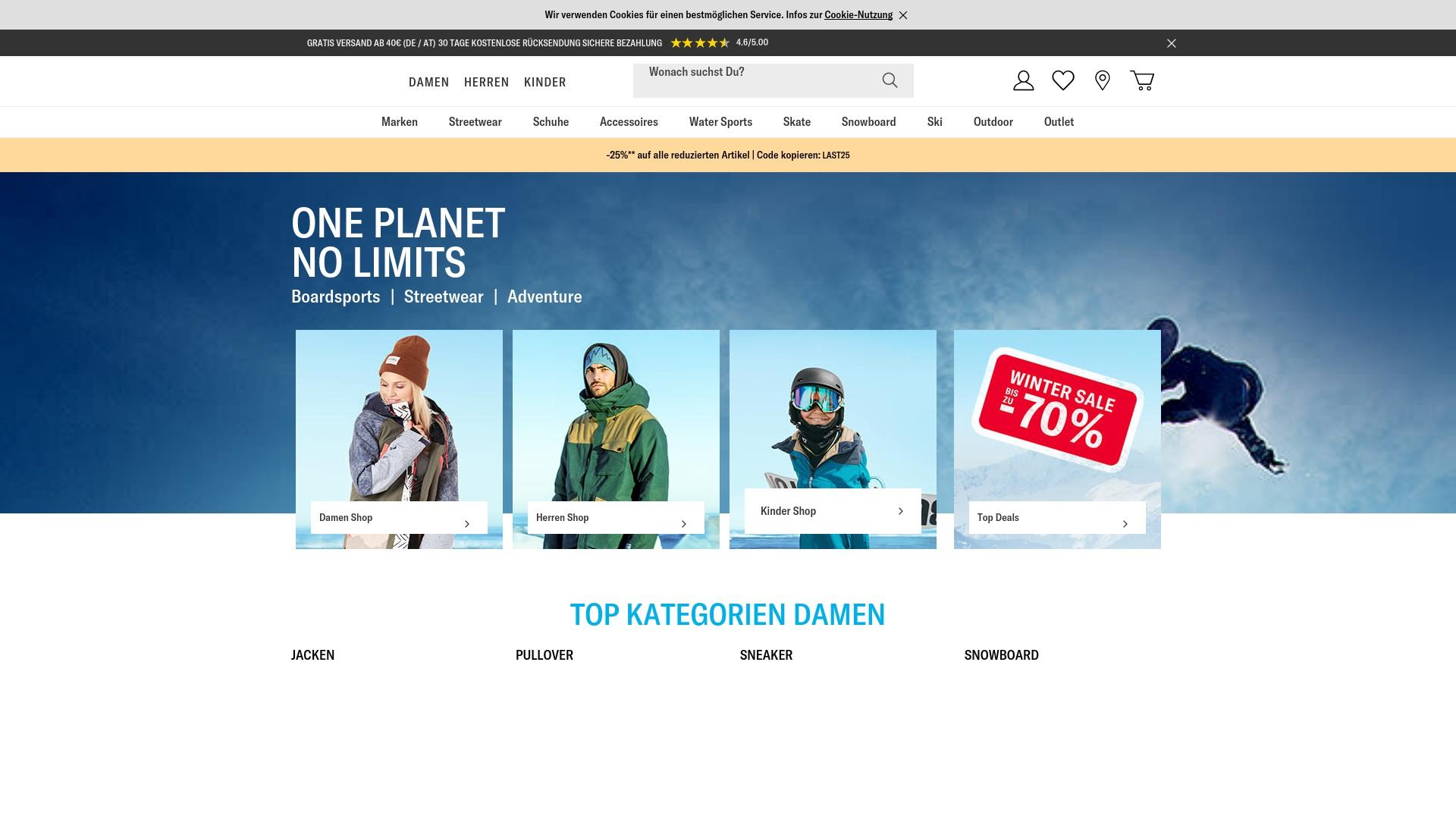 Gutschein für Planet-sports: Rabatte für  Planet-sports sichern