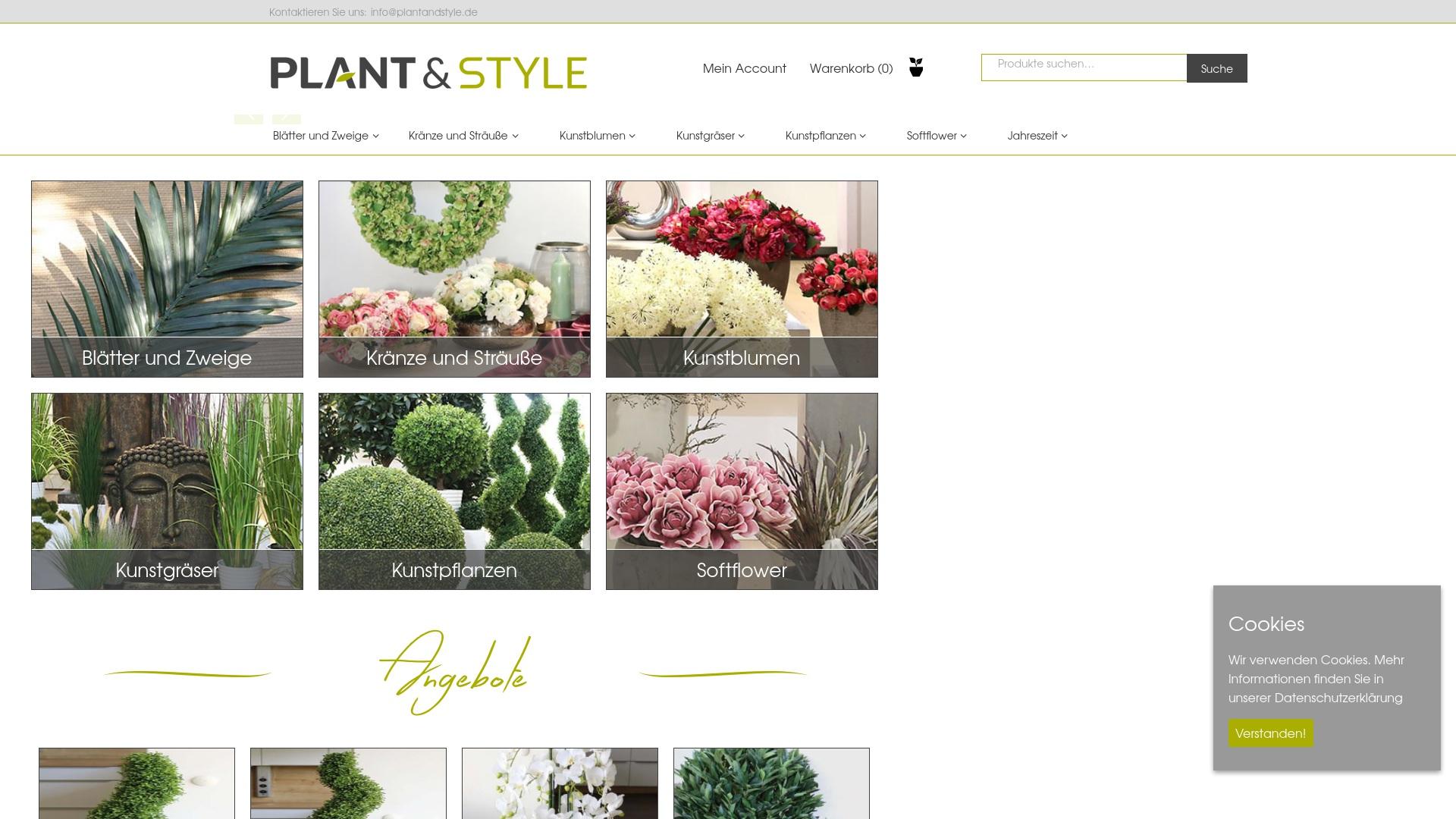 Gutschein für Plantandstyle: Rabatte für  Plantandstyle sichern