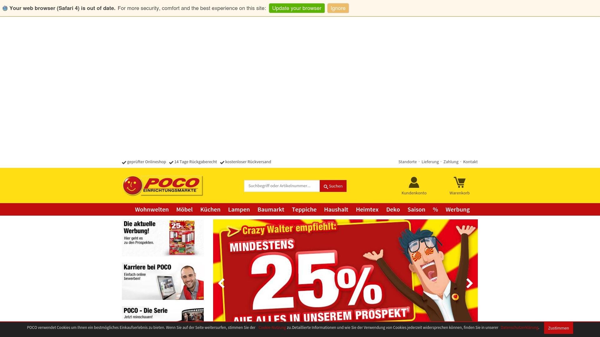 Gutschein für Poco: Rabatte für  Poco sichern