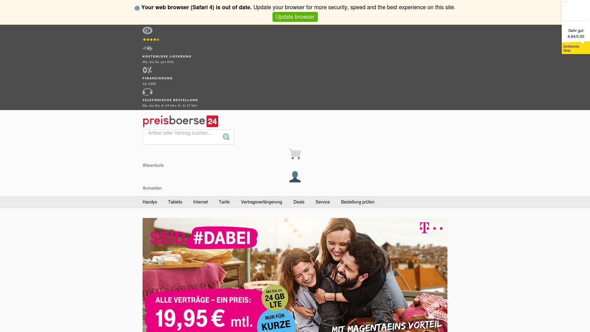 Gutschein für Preisboerse24: Rabatte für  Preisboerse24 sichern