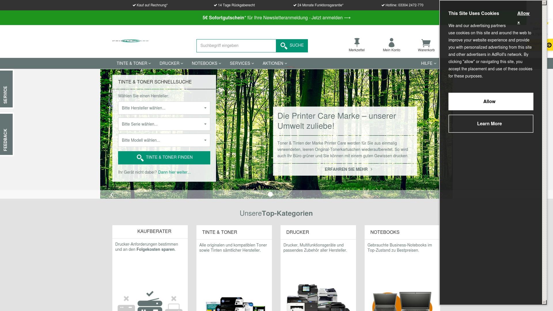 Gutschein für Printer-care: Rabatte für  Printer-care sichern