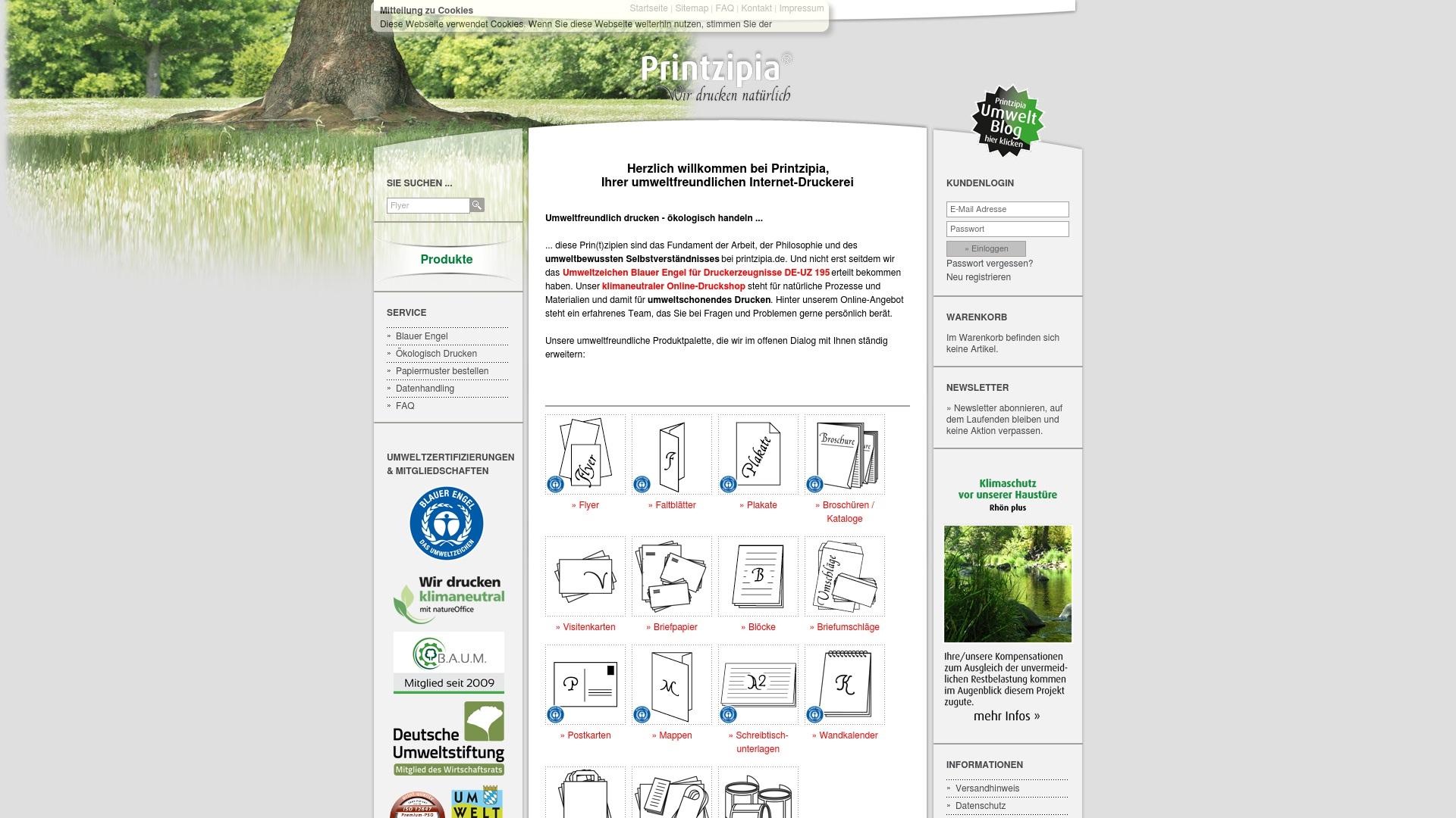 Gutschein für Printzipia: Rabatte für Printzipia sichern