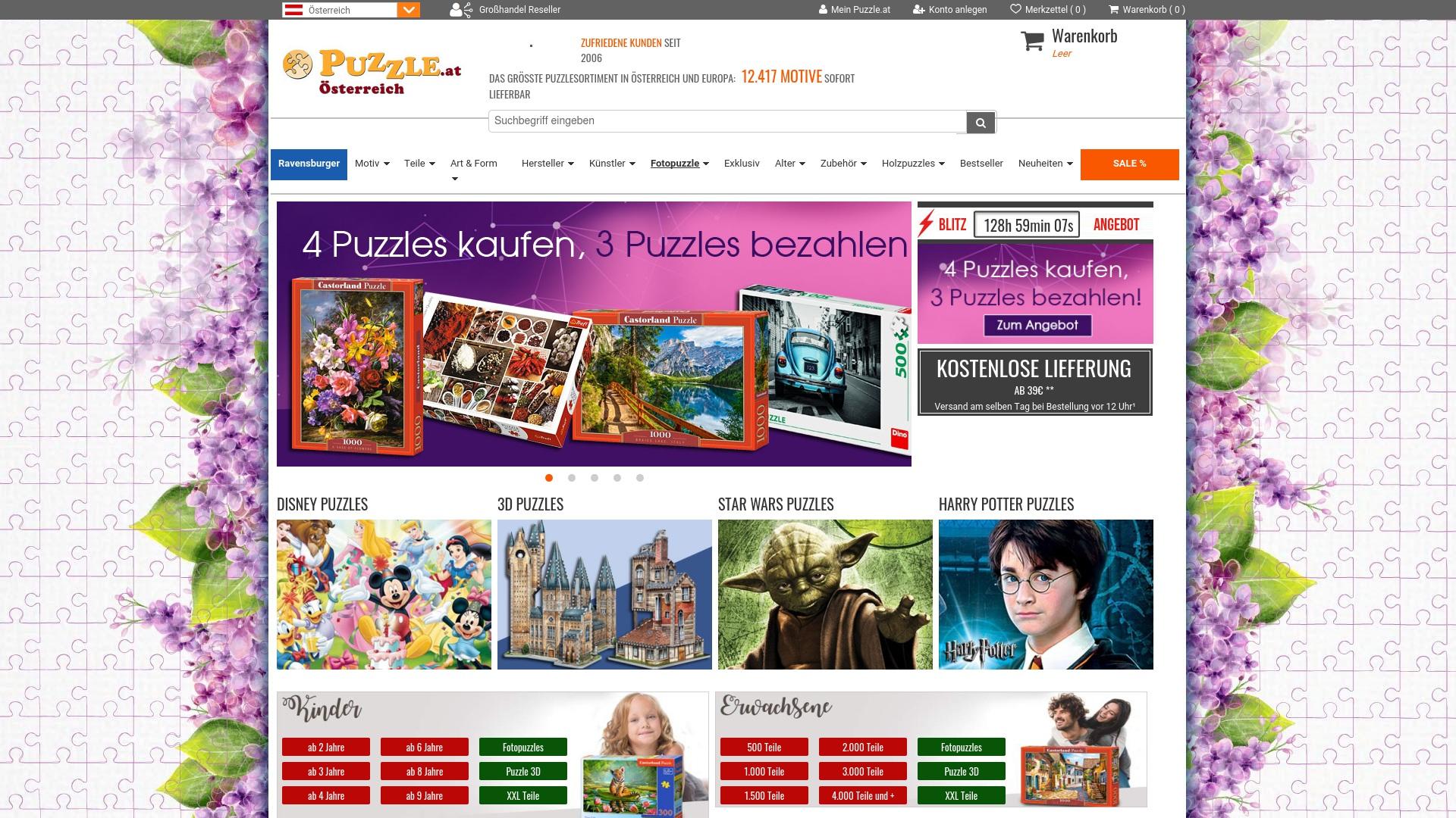 Gutschein für Puzzle: Rabatte für  Puzzle sichern