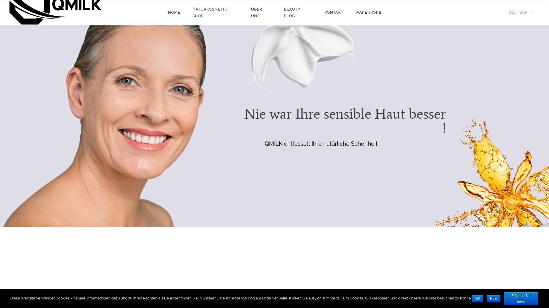 Gutschein für Qmilk-cosmetics: Rabatte für  Qmilk-cosmetics sichern