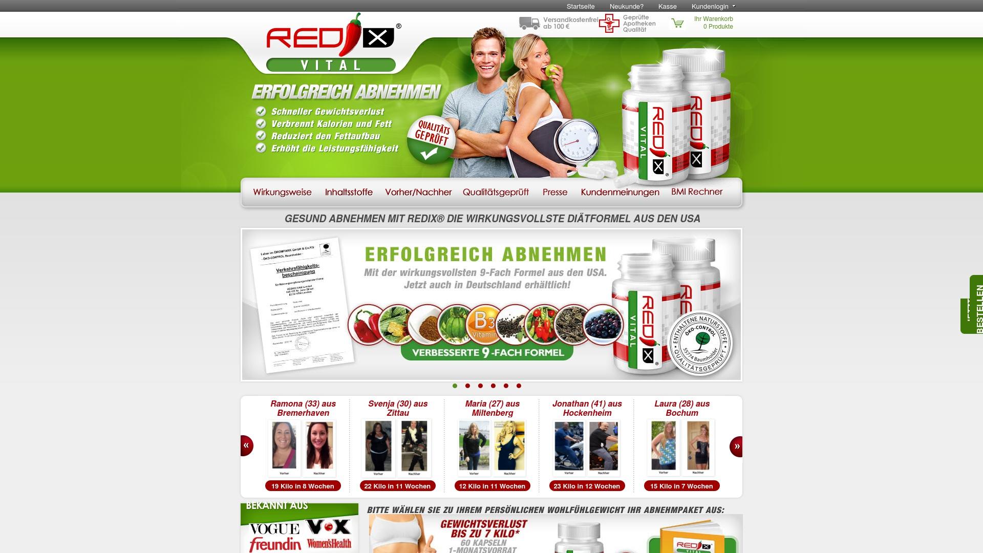 Gutschein für Redix-vital: Rabatte für  Redix-vital sichern