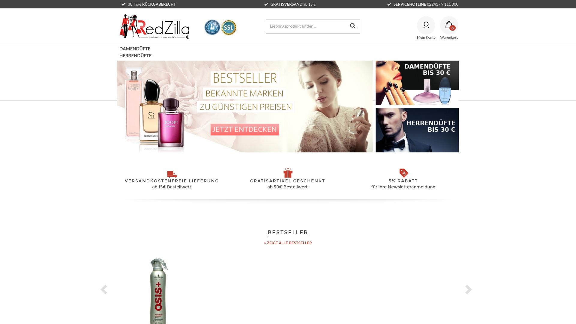Gutschein für Redzilla: Rabatte für  Redzilla sichern
