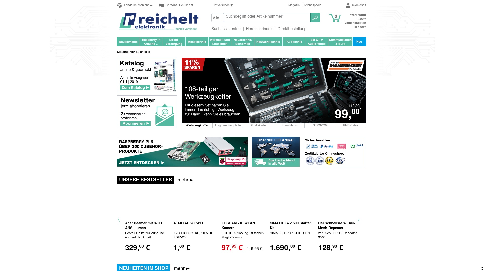 Gutschein für Reichelt: Rabatte für  Reichelt sichern
