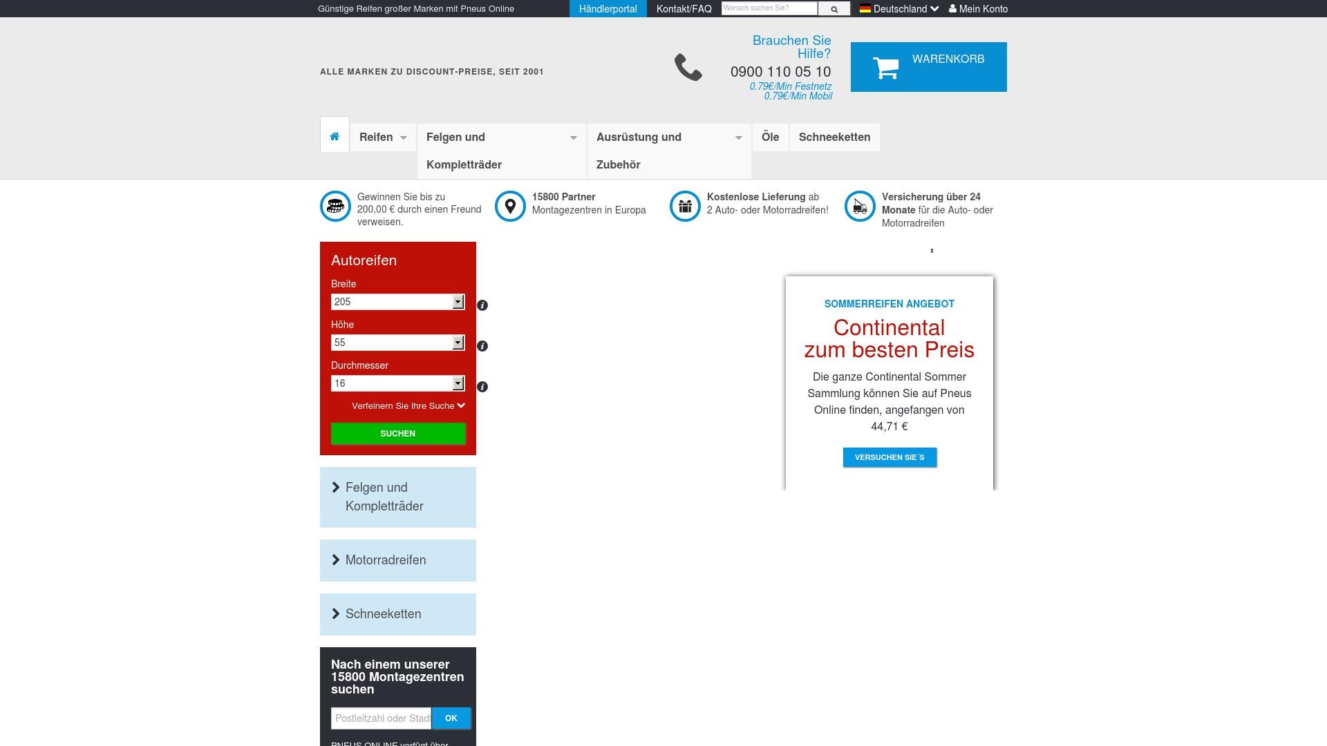 Gutschein für Reifen-pneus-online: Rabatte für  Reifen-pneus-online sichern