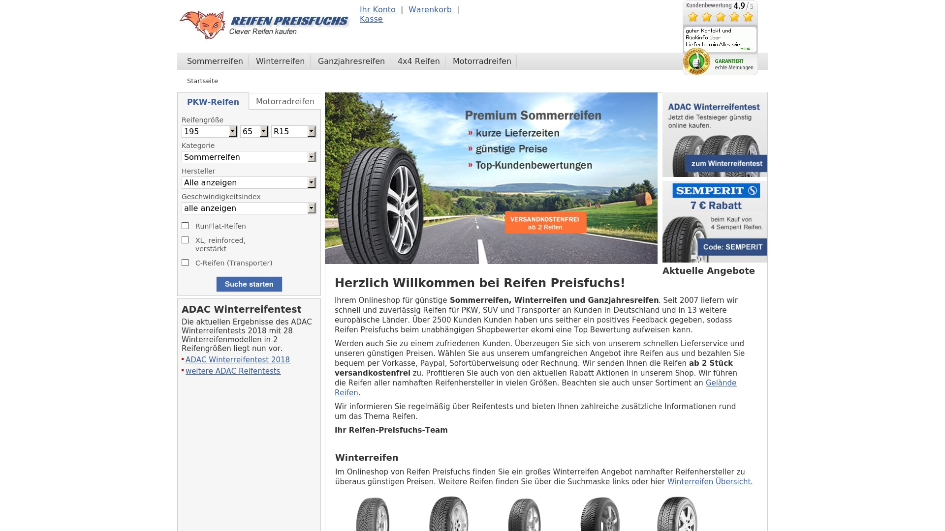 Gutschein für Reifen-preisfuchs: Rabatte für  Reifen-preisfuchs sichern