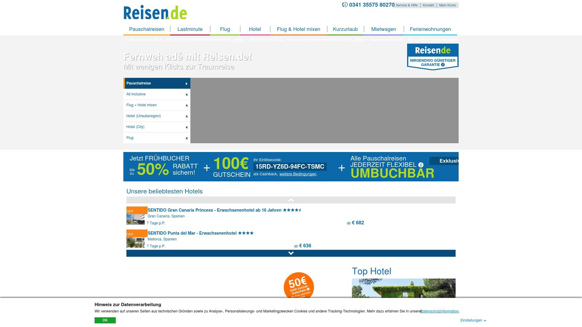 Gutschein für Reisen: Rabatte für  Reisen sichern