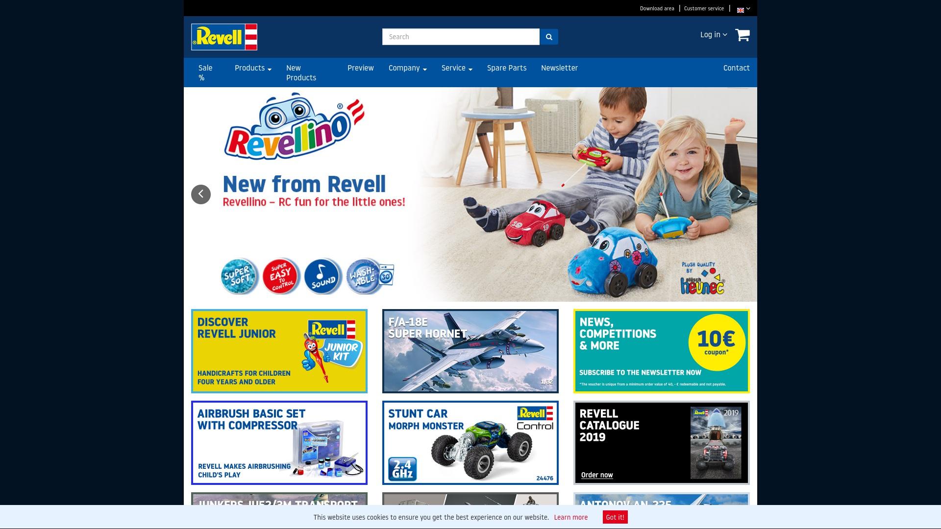 Gutschein für Revell-shop: Rabatte für  Revell-shop sichern