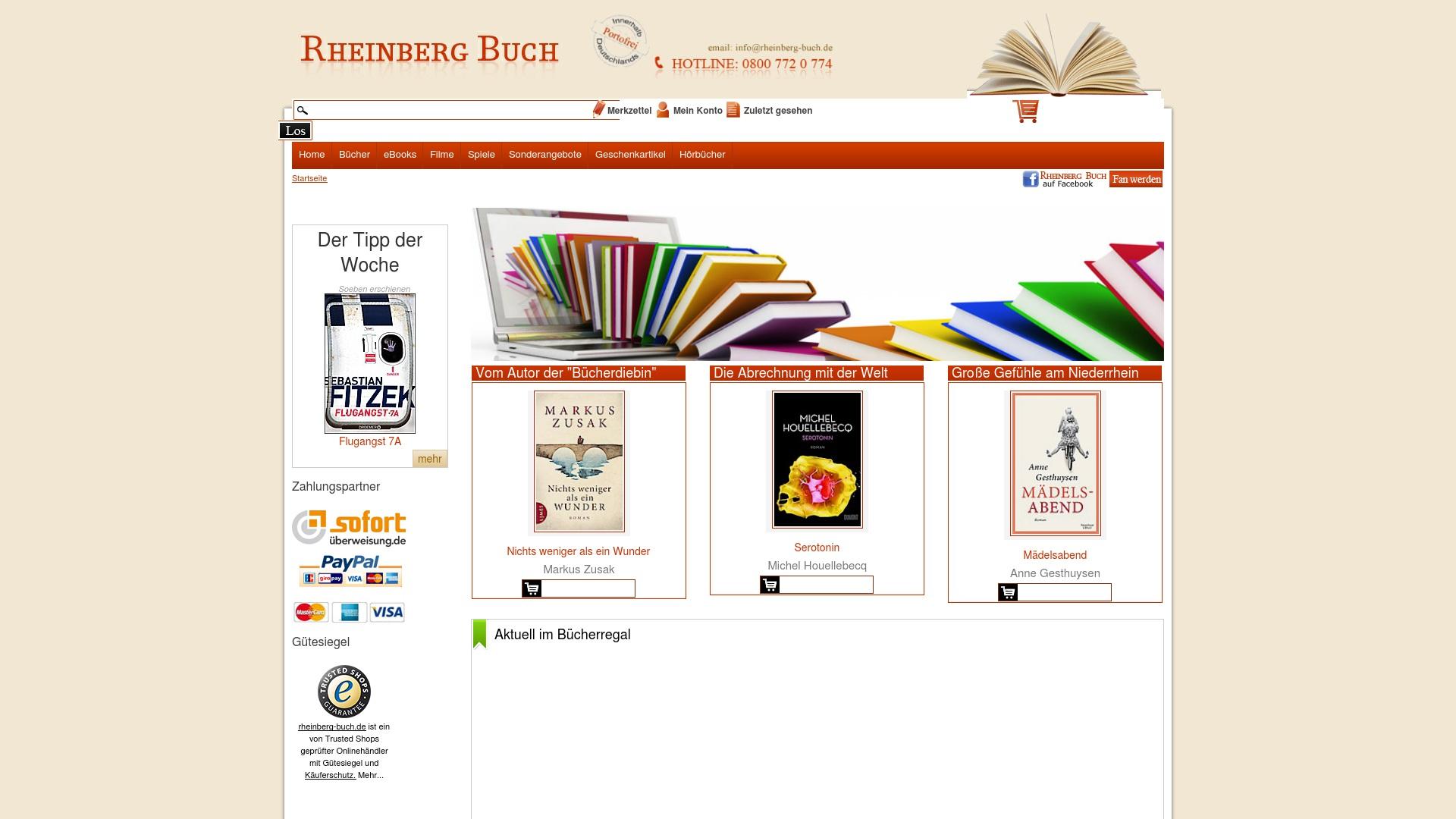 Gutschein für Rheinberg-buch: Rabatte für  Rheinberg-buch sichern