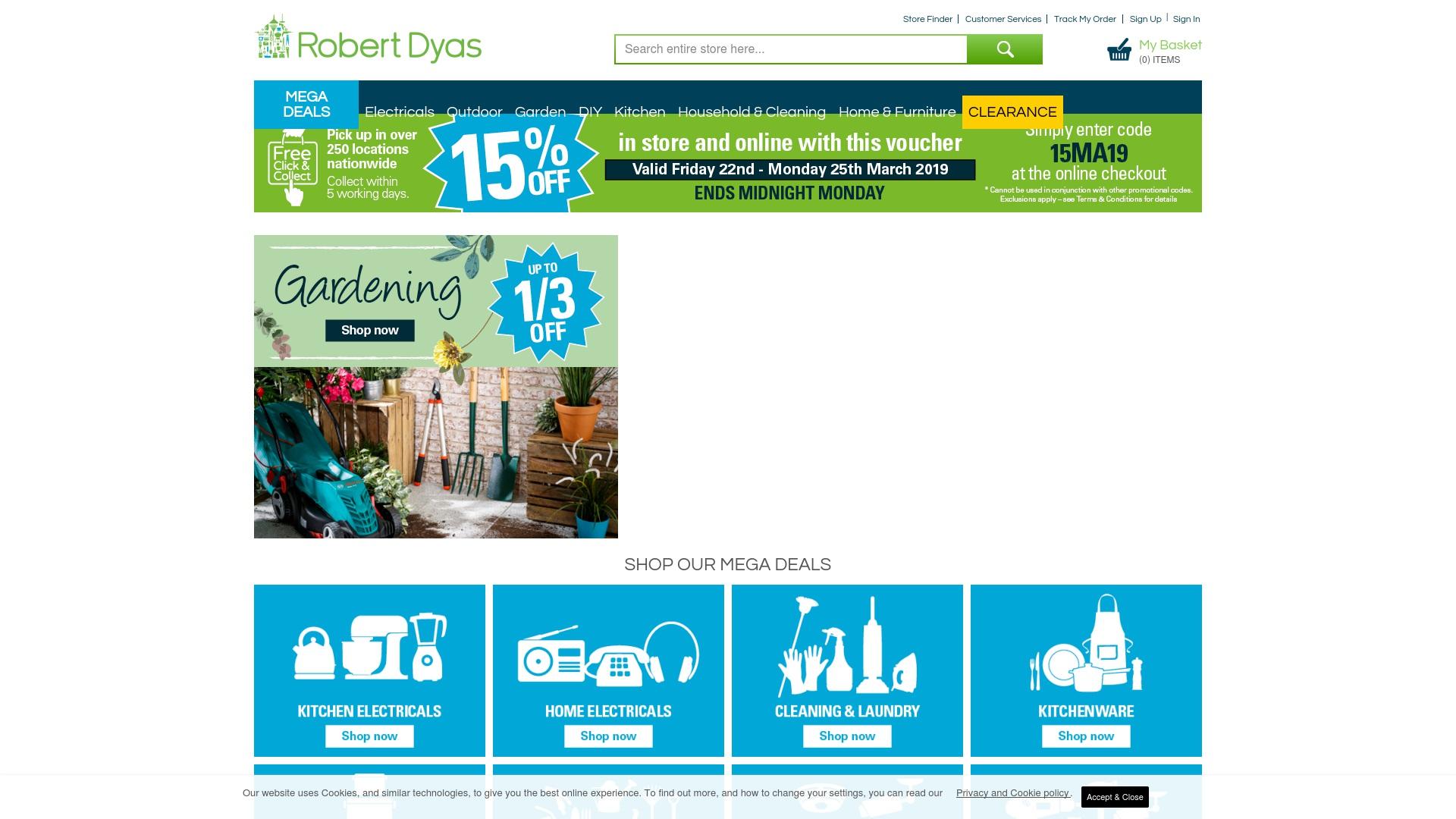 Gutschein für Robertdyas: Rabatte für  Robertdyas sichern