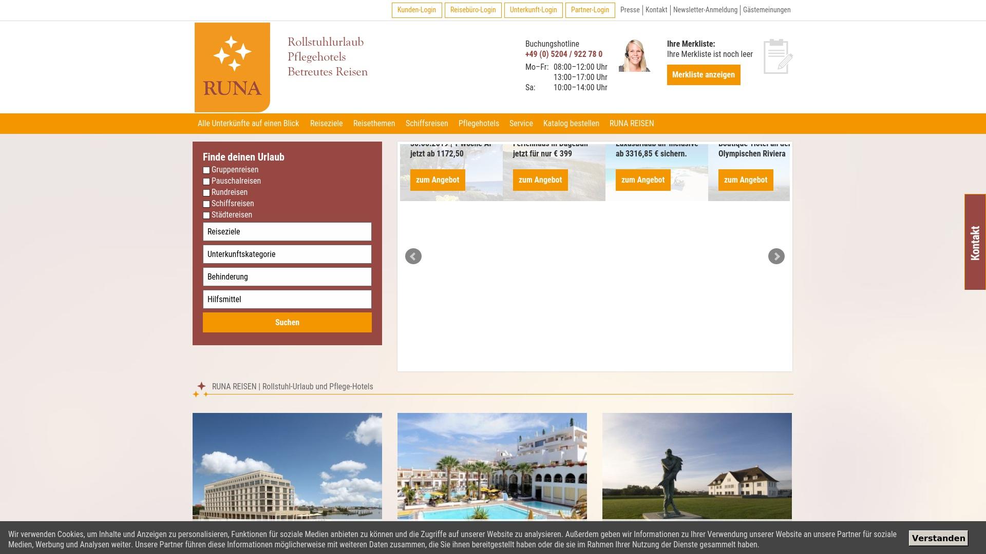 Gutschein für Runa-reisen: Rabatte für  Runa-reisen sichern