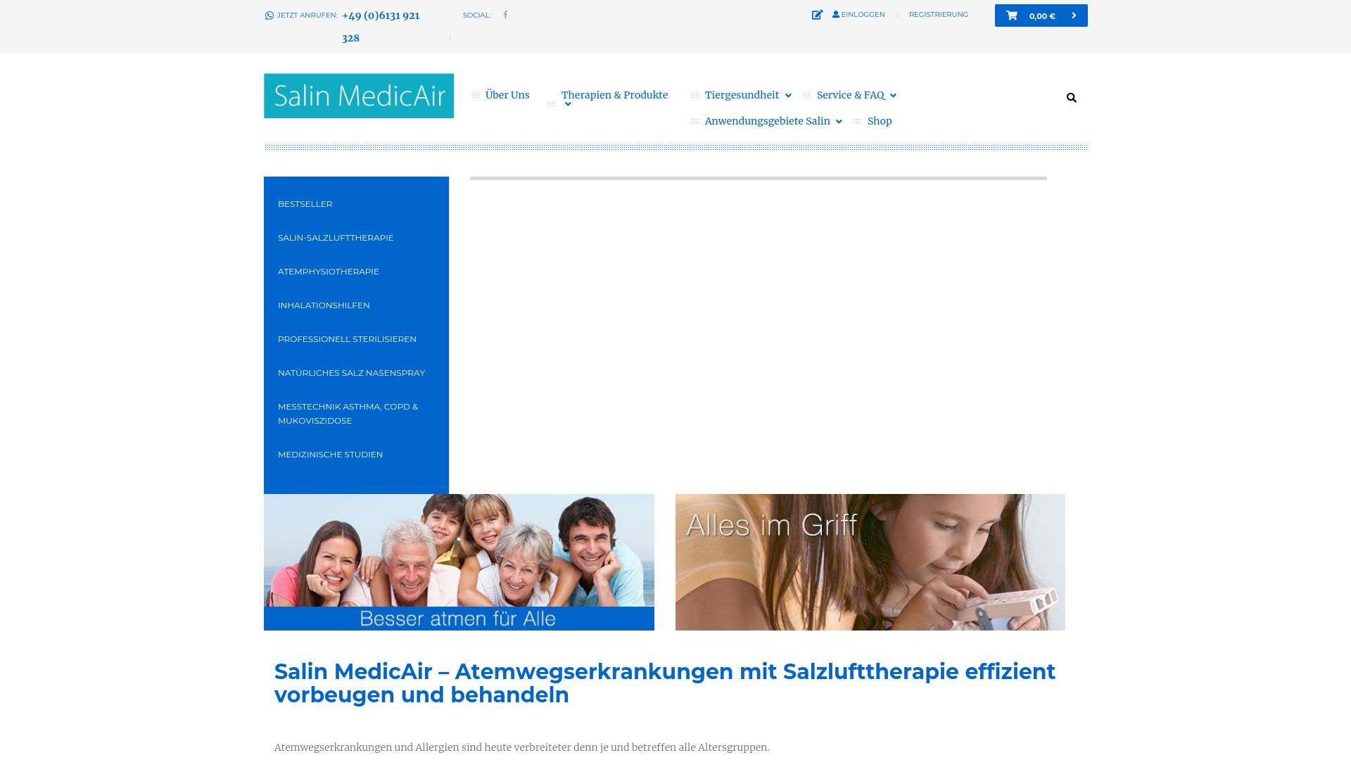 Gutschein für Salin-medicair: Rabatte für  Salin-medicair sichern