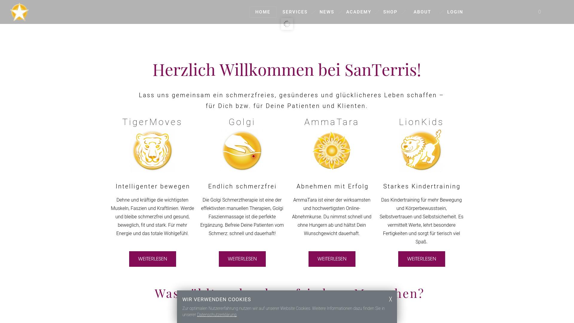 Gutschein für Santerris: Rabatte für  Santerris sichern