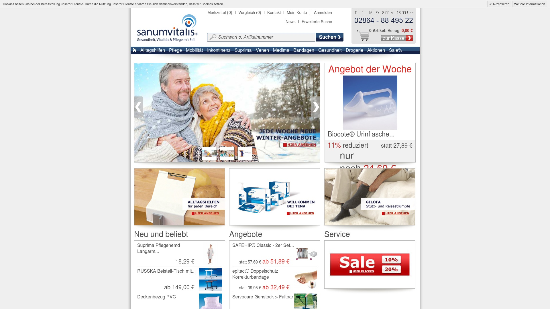 Gutschein für Sanumvitalis: Rabatte für  Sanumvitalis sichern