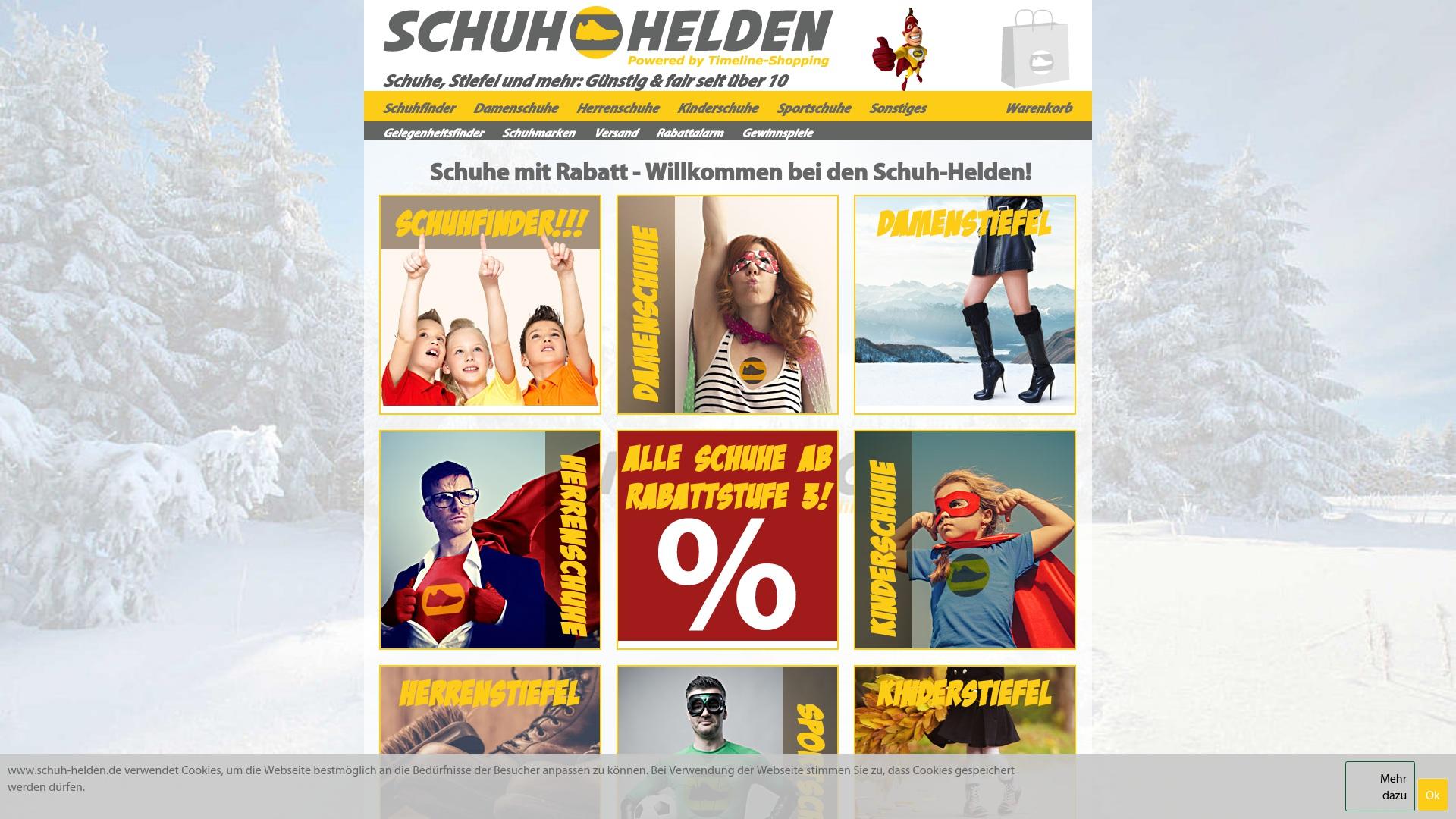 Gutschein für Schuh-helden: Rabatte für  Schuh-helden sichern