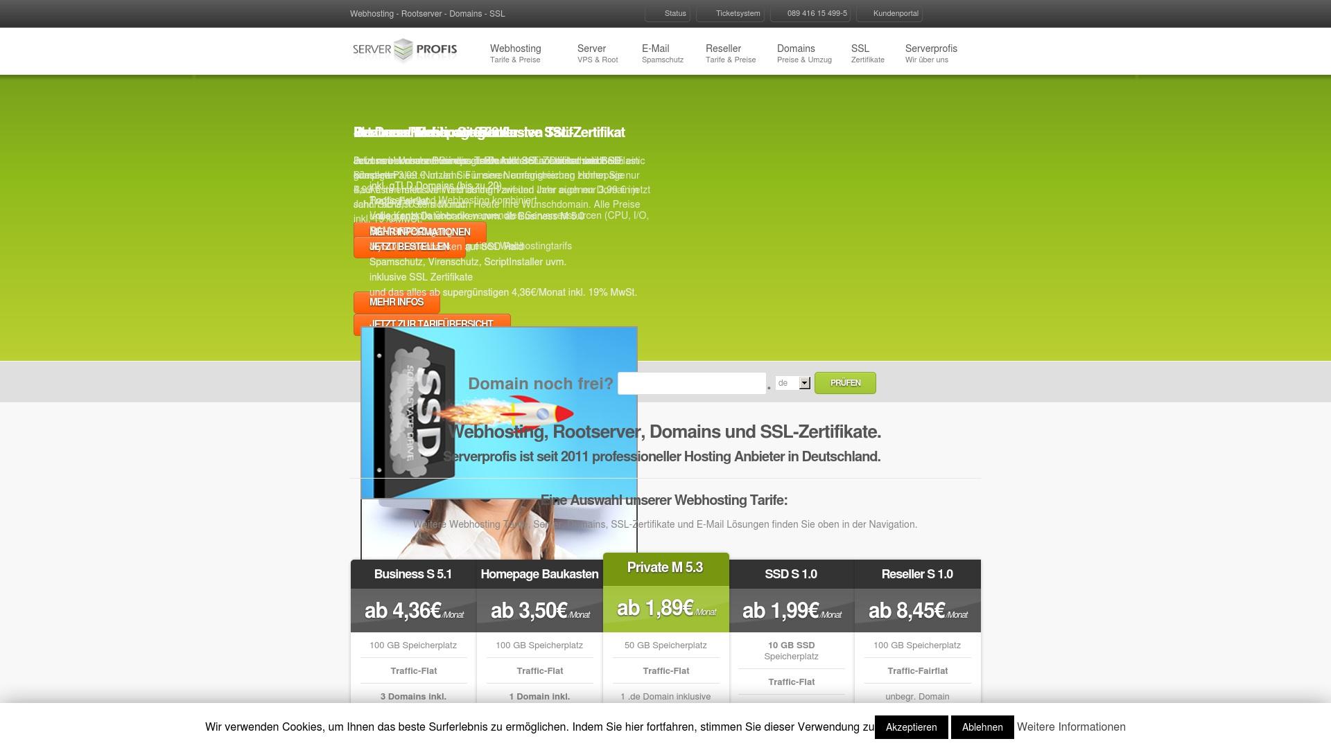 Gutschein für Serverprofis: Rabatte für  Serverprofis sichern